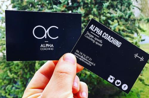 Carte De Visite Alpha Coaching
